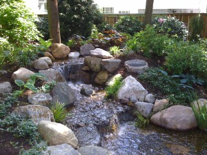 waterfall installation Indianapolis